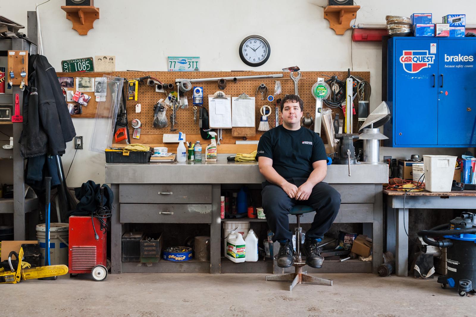 Kyle Matters, Technician