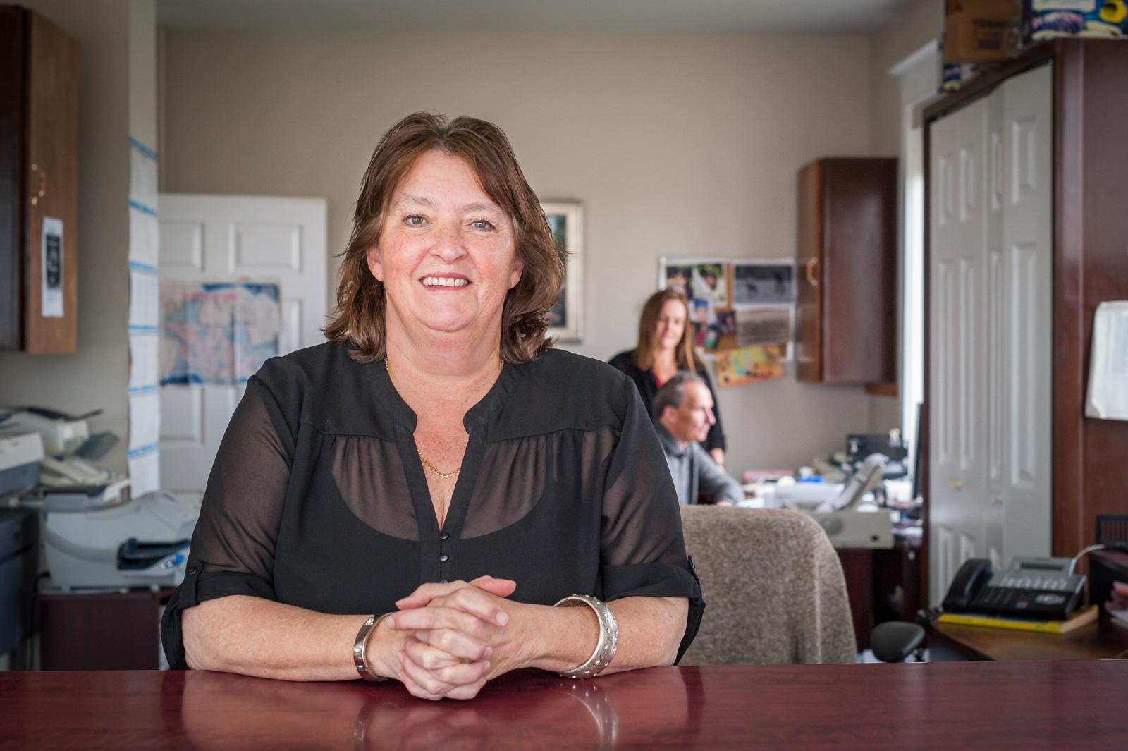 Lynn Taylor, Receptionist