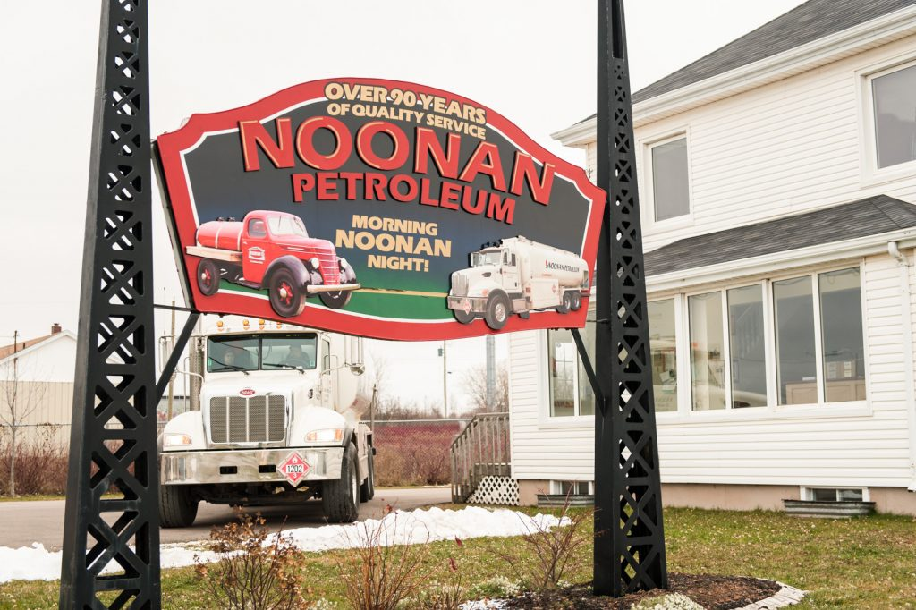 Noonan Petroleum sign in Summerside